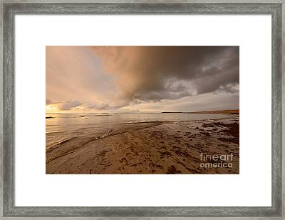 Berneray Dawn Framed Print