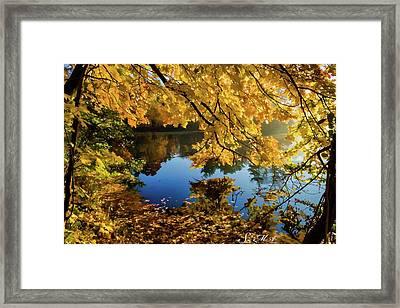 Bernharts Dam 15-244 Framed Print