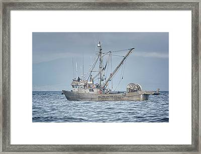Framed Print featuring the photograph Bernice C by Randy Hall