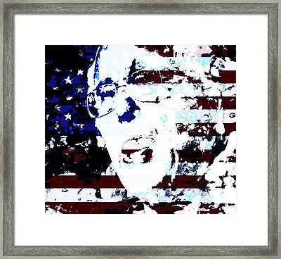 Bernie 2016 Framed Print by Brian Reaves