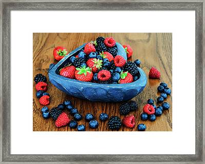 Berries Collection Framed Print