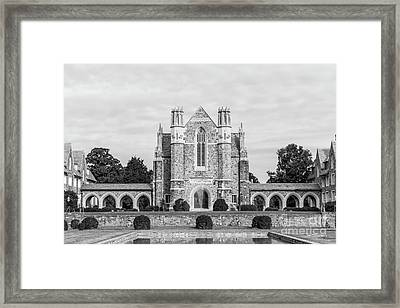 Berry College Ford Dining Hall Framed Print by University Icons