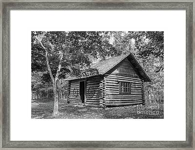 Berry College Martha Berry Cabin Framed Print