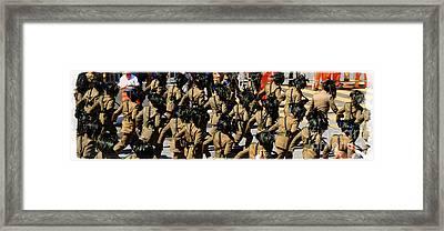 Bersaglieri - Italian Army Framed Print by Stefano Senise