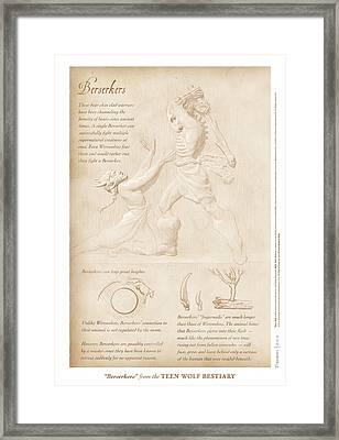 Berserkers Framed Print