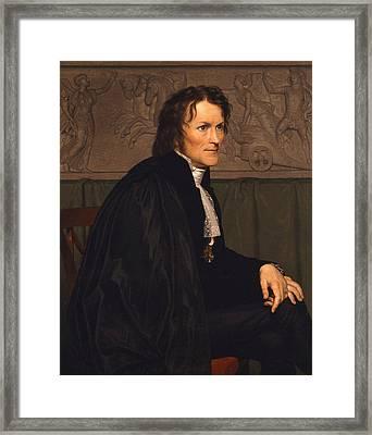 Bertel Thorvaldsen Framed Print