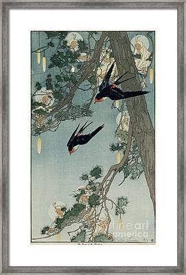 Bertha Boynton Lum Framed Print