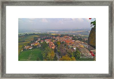 Bertinoro View -romagna Framed Print