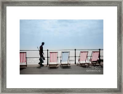 Beside The Seaside #4 Framed Print by Jan Bickerton