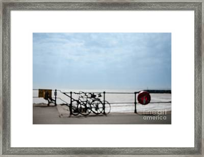 Framed Print featuring the photograph Beside The Seaside #6 by Jan Bickerton