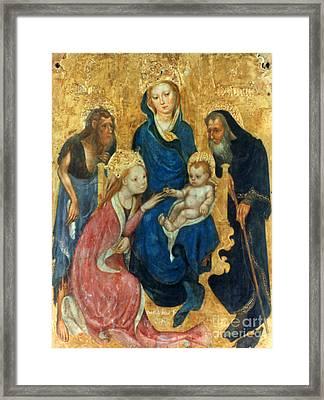 Besozzo: St. Catherine Framed Print
