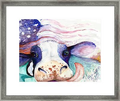 Bessie Framed Print by Melinda Dare Benfield