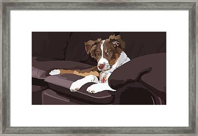 Best Boy Framed Print by Kris Hackleman
