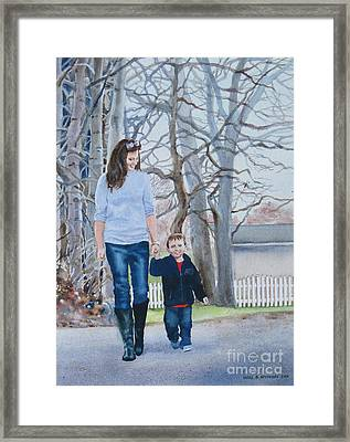 Best Buddies Framed Print by Karol Wyckoff