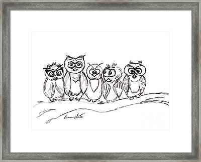 Best Buddies Framed Print by Ramona Matei
