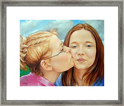 Best Buds Framed Print by Jerrold Carton
