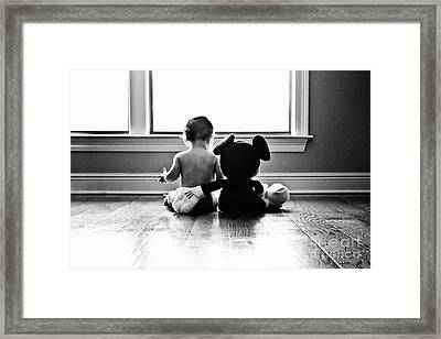 Best Bud's Framed Print by Scott Pellegrin