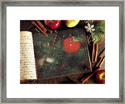 Best Christmas Wishes Framed Print