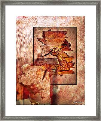 Best Defense Is Attack Framed Print by Paulo Zerbato