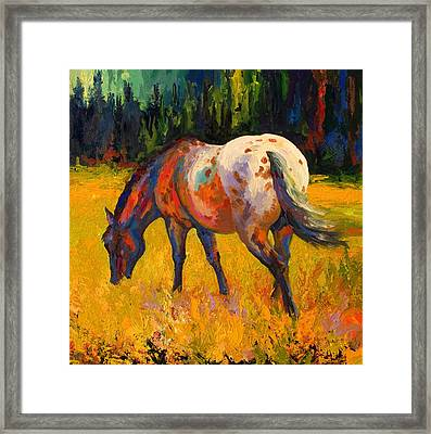 Best End Of An Appy Framed Print by Marion Rose