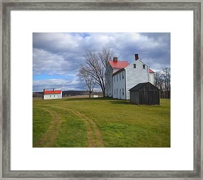 Best Farm Framed Print