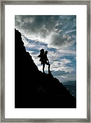 Best Foot Forward Framed Print