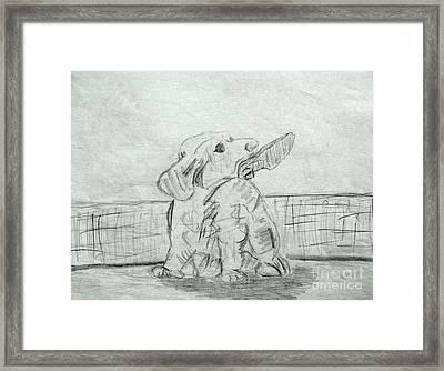 Best Friend 2 Framed Print