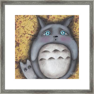 Best Friend Framed Print by Abril Andrade Griffith