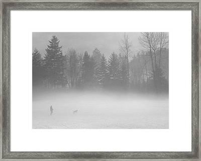 Best Friends Framed Print by Bill Kellett