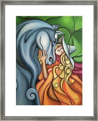 Pony Girl Framed Print
