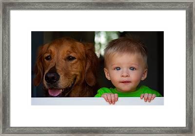 Best Friends Framed Print by Matt Dobson