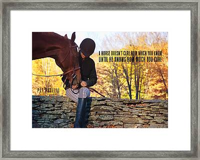 Best Friends Quote Framed Print by JAMART Photography