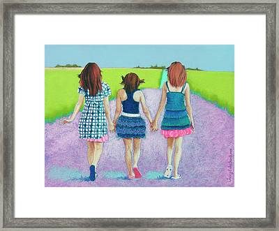 Best Friends Framed Print by Tracy L Teeter