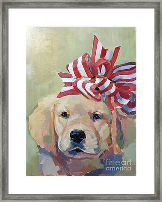 Best Gift Ever Framed Print by Kimberly Santini