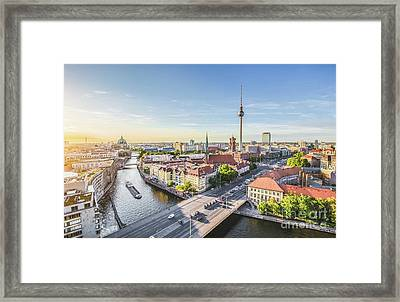 Best Of Berlin Framed Print by JR Photography