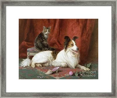 Best Of Friends Framed Print