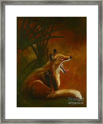 Best Part Of Waking Up Framed Print by Suzanne McKee