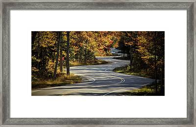 Best Road Ever Framed Print