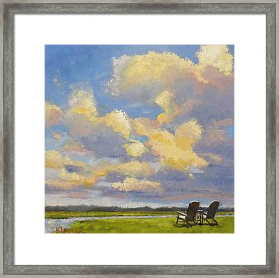 Best Seats In The House Framed Print