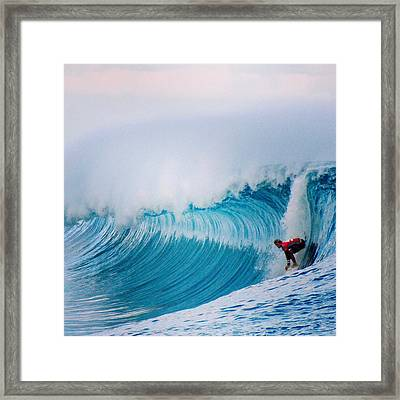 Best Wave Or The Day Framed Print