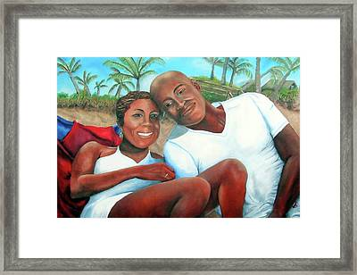 Best Wishes Framed Print by Alima Newton