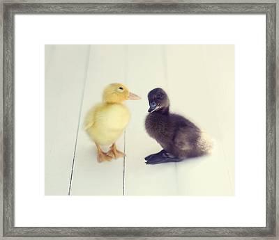 Besties Framed Print by Amy Tyler