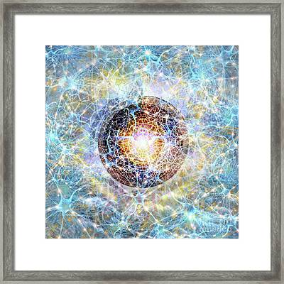 Beth - Heart Infused Technology Framed Print