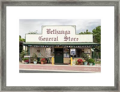 Bethanga General Store Framed Print