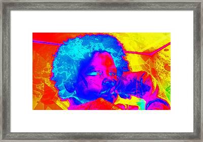 Look Above Hopelessness Framed Print