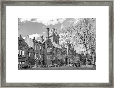 Bethany College Old Main Framed Print by University Icons