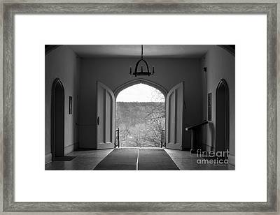 Bethany College View Framed Print by University Icons