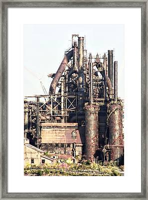 Bethlehem Steel # 14 Framed Print