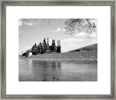 Bethlehem Steel Framed Print
