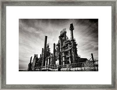 Bethlehem Steel Framed Print by Olivier Le Queinec